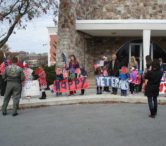 Community Invited to School's Downtown Veterans Day Parade