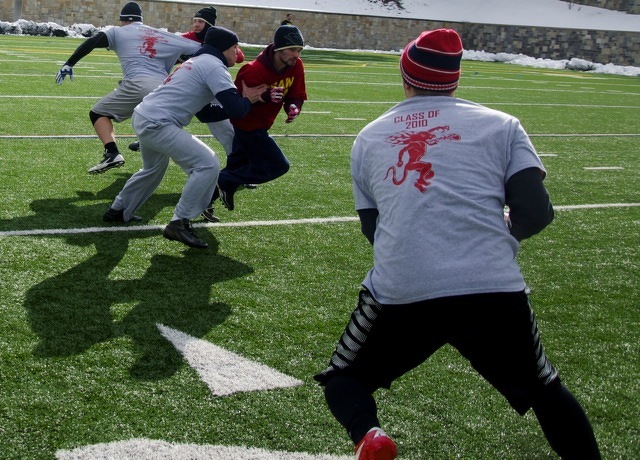 Turkey Bowl Raises Money for State High Scholarships, Brings Generations Together
