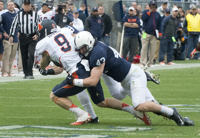 Penn State Football: Mike Hull Named Second Team USA Today All-American