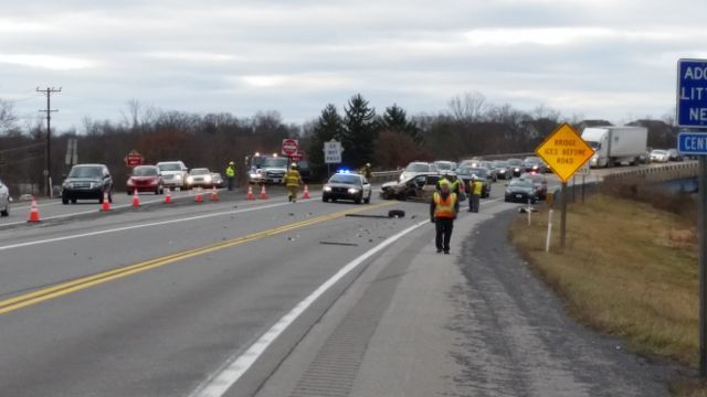 state college pa accident causes delay on rt 322 near boalsburg. Black Bedroom Furniture Sets. Home Design Ideas