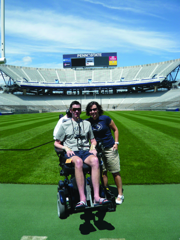 State College, PA - The Disease Behind the Challenge -