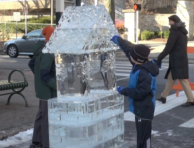 Vandals Attack Some Ice Sculptures, Other 'Damage' Less Sinister