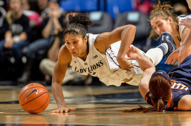 Lady Lions Fall To 0-3 in Big Ten With 91-76 Loss To Illinois
