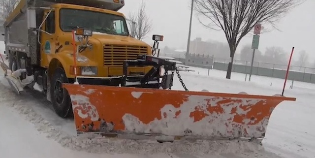 While You Were Sleeping: Snow Plows Work All Day & All Night