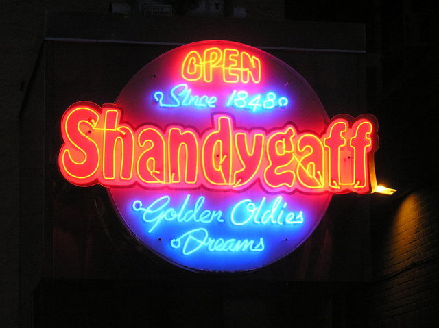 Shandygaff and Brewery Stand Alone In State Patty's Day Closing