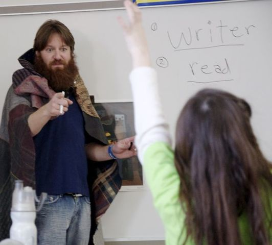 Mount Nittany Elementary 'Lit Fest' Challenges Students to 'Go Beyond What's on the Surface'