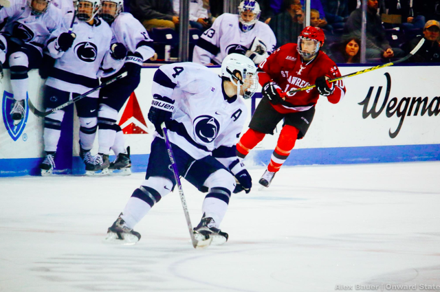 Penn State Hockey: St Lawrence Third Period Beats Nittany Lions 4-2