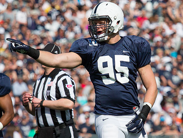 Penn State Football: Nassib Named Conference Defensive Player Of The Year
