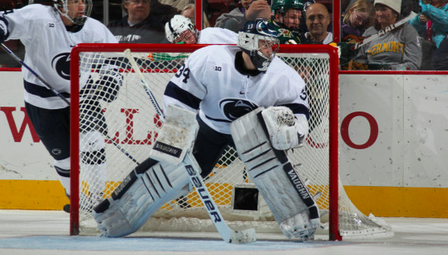Penn State Hockey: McAdam Picks Up First Star Honors For Shutout Victory
