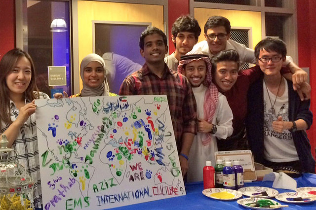 Earth and Mineral Sciences Students Celebrate Diversity
