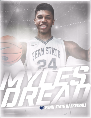 Penn State Basketball: Shooting Forward Myles Dread First Commit Of 2018 Class