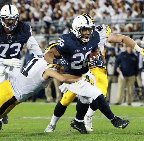 best service 96a3f 88cd2 State College, PA - Penn State Football: Saquon Barkley is ...