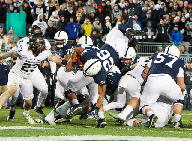 Penn State Football: Watch Nittany Lions Celebrate 10-2 Season And Division Title