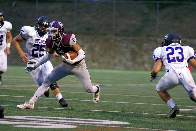 Three State College Players Named to All-State Football Team