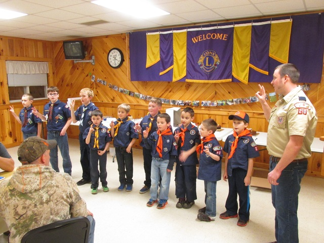 State College, PA - Centre Hall Cub Scouts learn about