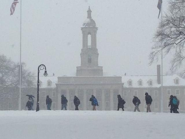 Penn State Cancels Tuesday Classes, Activities at University Park
