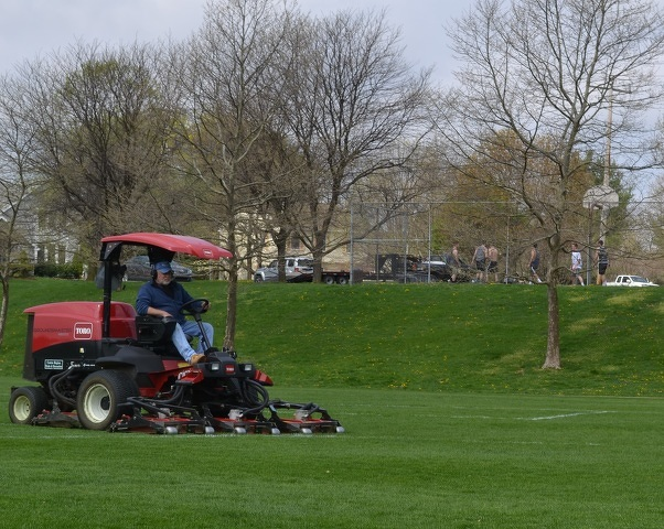 Centre Region Parks and Recreation Staff Sprucing Up Parks for Busy Season