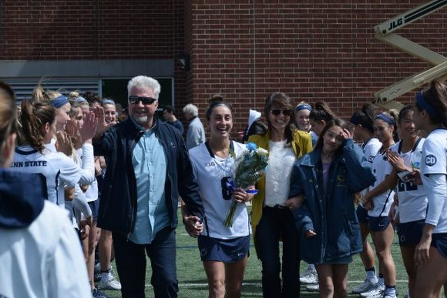 Erika Spilker a Leader in Resurgence Of Penn State Women's Lacrosse