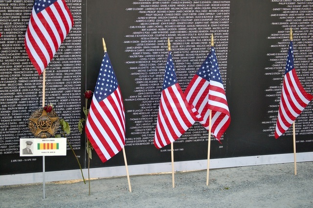 Honor and Respect: Vietnam Memorial Traveling Wall Visits Penn State