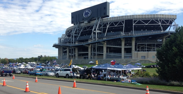 Tailgaters Asked to Work on Sustainability Effort, Sort and Bag Trash