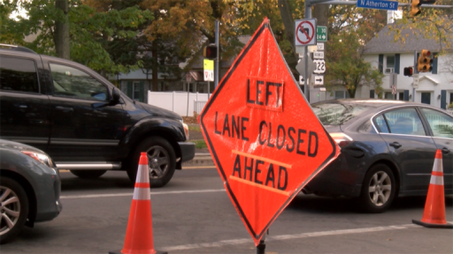 Work on Atherton Street Continues to Frustrate Drivers