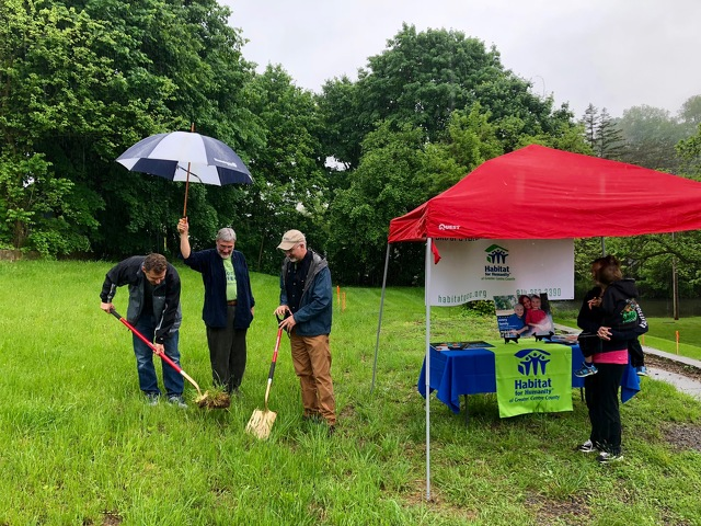 Habitat for Humanity Breaks Ground on New Home in Centre County