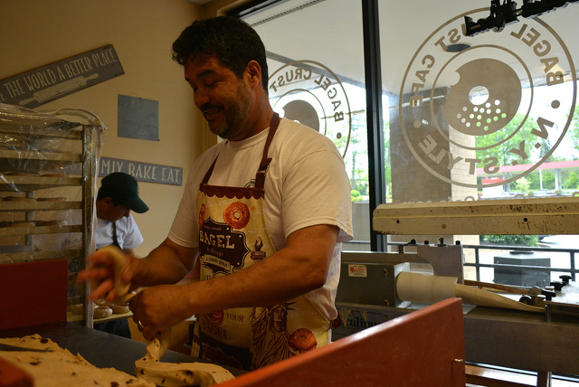 Bagel Crust's Third Location Up and Running