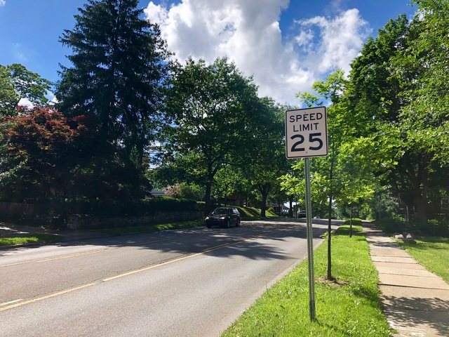 Lower Speed Limit Now in Effect on Atherton Street in State College