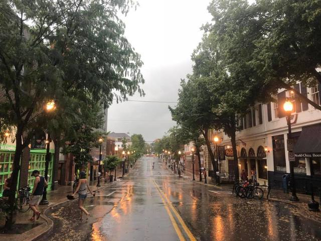 Rain Washes Out 4thFest Parade, But Fireworks Continue On