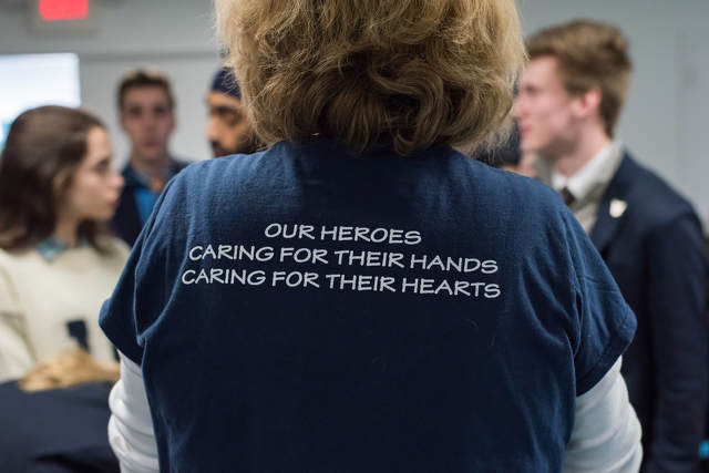 A Chance Meeting on a Plane Inspired a State College Woman's Charity to Support Military Personnel