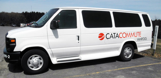 CATA Among First Recipients of Vanpool Grants
