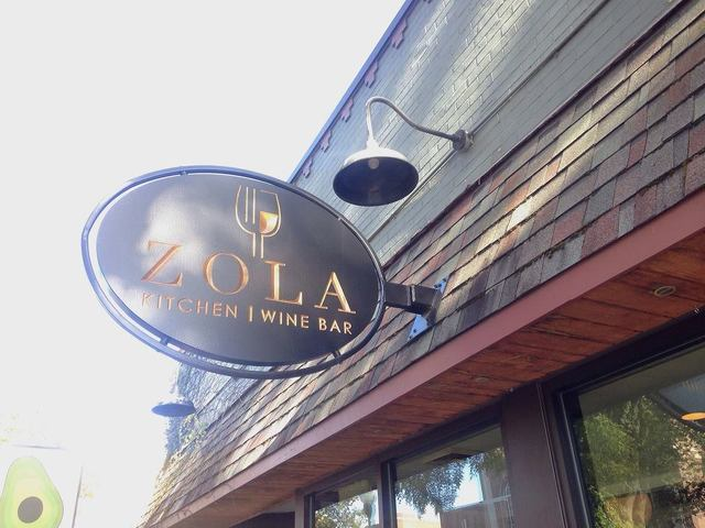 Zola Kitchen and Wine Bar to Close