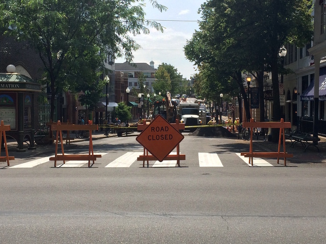 Allen Street to Be Closed for Paving