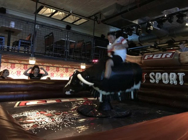 I Rode the Mechanical Bull at Champs and I Liked It
