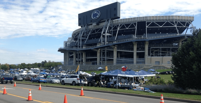 Beaver Stadium Parking Sold Out for Homecoming Game