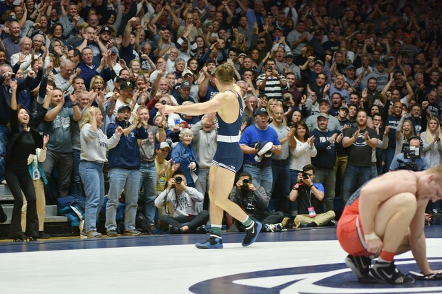 Penn State Wrestling: 7 Fans Who Can't Wait for the Thrill