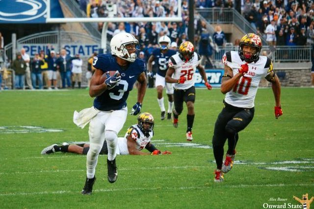 Penn State-Maryland Slated for Mid-Afternoon Kickoff