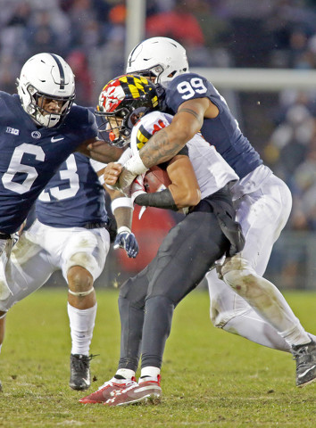 Prying Time? Penn State's Defense Completes Best 3-Game Finish Since 1985