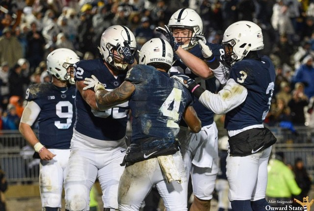 Penn State Moves Up One Spot in New AP Poll