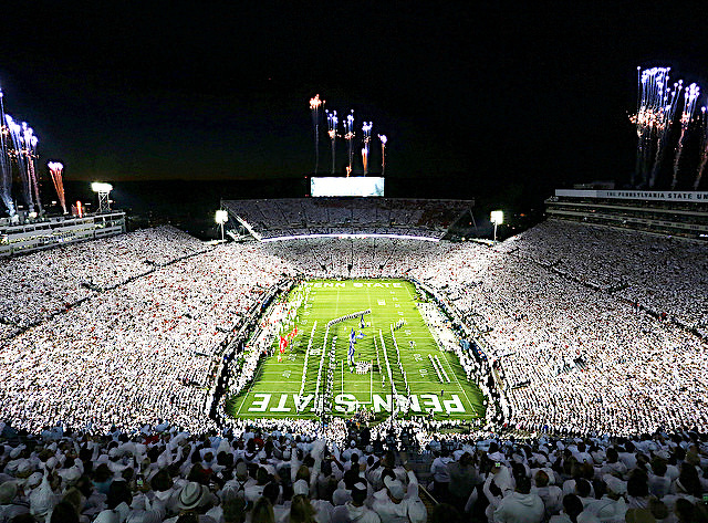 State College Pa Penn State Football Jumps To No 2 In