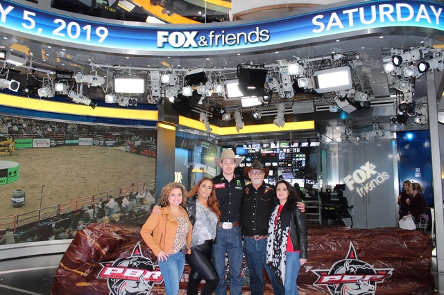 Local Company's Partnership with Professional Bull Riders Featured on Fox