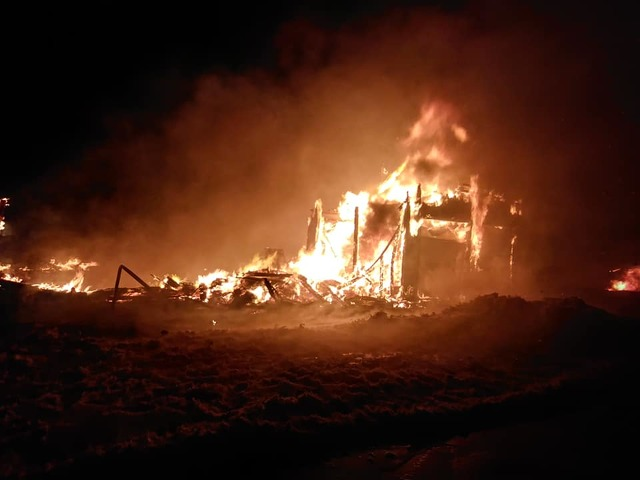 Potter Township Home Destroyed in Fire