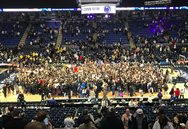 Penn State Basketball: Nittany Lions Upend No. 6 Michigan 75-69