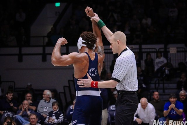 No. 1 Penn State Wrestling Clinches Big Ten Regular Season Title with Win over No. 19 Illinois