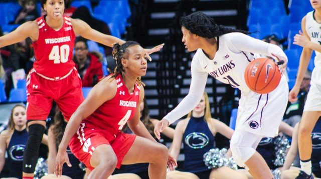 Lady Lions Season Comes to a Close with Big Ten Tourney Loss to Wisconsin