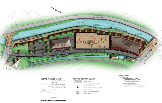 Bellefonte Waterfront Projects Moving Forward