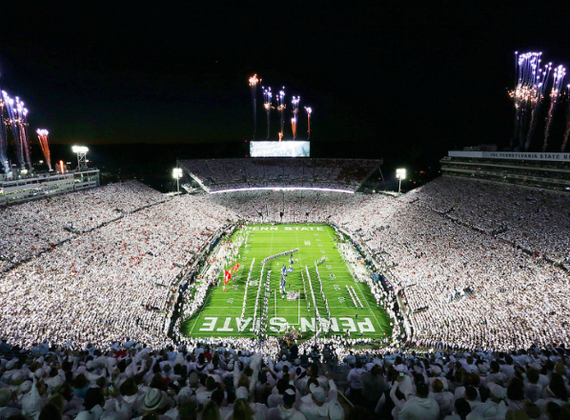 Penn State Football: White Out Game Set For Michigan