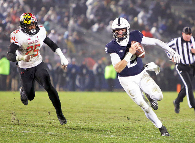 Penn State Football: Tommy Stevens To Join Moorhead At Mississippi State
