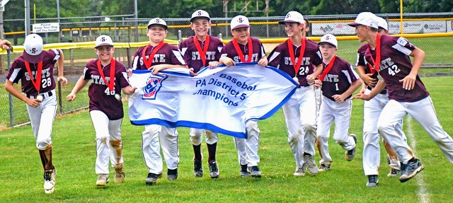 State College Little League Wins District 5 Championship