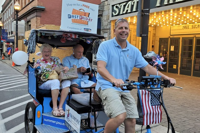 Todd Miner Offers the Happiest Transportation in Happy Valley